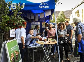 Beim Stand des NABU war Einiges los. - Foto: Kathy Büscher