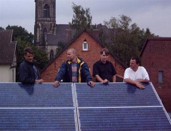 Solaranlage Ostertor. - Foto: Kathy Büscher