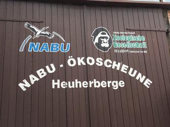 Die NABU-Ökoscheune. - Foto: Dr. Nick Büscher