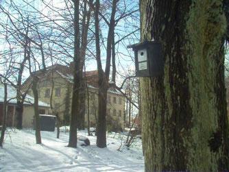 Kleiberkasten an der Schaumburg - Vogel des Jahres 2006. - Foto: Nick Büscher