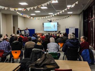Das erste Treffen des Schaumburger Aktionsbündnisses zum Volksbegehren. - Foto: Kathy Büscher