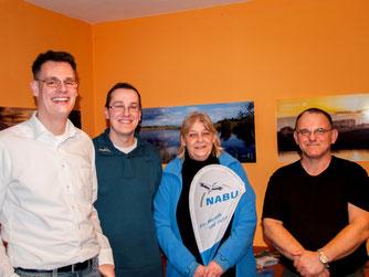 Das Vorstandsteam mit Dennis Dieckmann, Dr. Nick Büscher, Roswitha Möller und Alexander Bronner. - Foto: Kathy Büscher