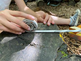Foto: Nisthilfen für Wildbienen, M. Ruland, Nabu