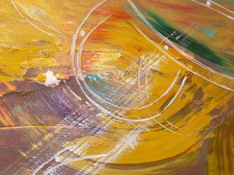 "BARBARA PELLANDRA, ""SPIRITUAL"", olio su tela , cm 50x50, 2013;"