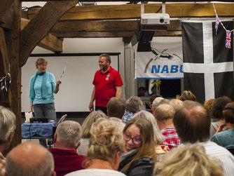 Rüdiger Wohlers und Heike Neunaber im Prinzenhof. - Foto: Kathy Büscher