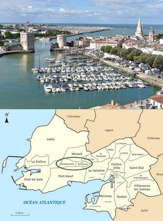 Visite presse de chantier à La Rochelle par Sentri Tech et ses applicateurs - Lorillou et TTBR
