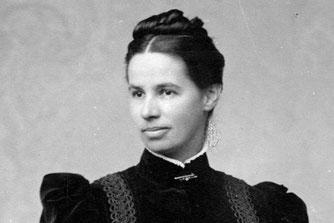 Lina Hähnle (1851-1941) um 1890. Quelle: Archiv Magda und Wilfried Knöringer