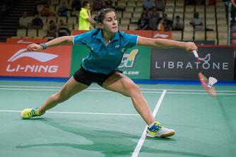 Verlor das entscheidende Doppel: Carolina Marin (Bild: Bernd Bauer)