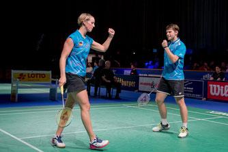 Spieler des Jahres 2014: Birgit Michels und Michael Fuchs (Bild: Bernd Bauer)