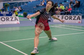 Möchte es den Olympiakandidatinnen schwer machen: Nachwuchstalent Yvonne Li (Bild: Bernd Bauer)