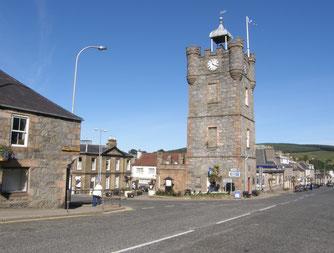 Der Clock-Tower - Bildquelle: Elizabeth Oliver, Dufftown 2000 Ltd. (www.dufftown.co.uk)