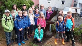 Besuch im Fledermaushaus Allendorf
