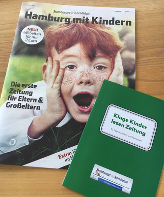 """Ratgeber aus Papertown als Beilage in """"Hamburg mit Kindern"""""""
