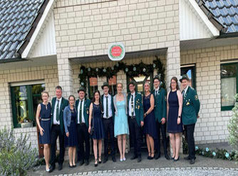 2017/2018  König Robert Schwenen, Königin Verena und Throngefolge