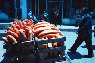 ein mobiler Brotverkauf