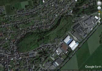 Der Berg im Dorf Solms-Oberbiel (Foto: Google-Maps)
