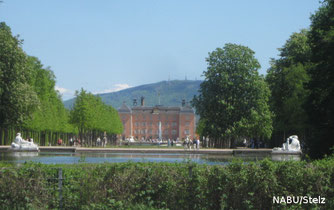 NABU Schwetzingen im Schwetzinger Schlossgarten