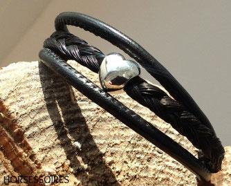 Schweifhaar-Armband von Horsessoires