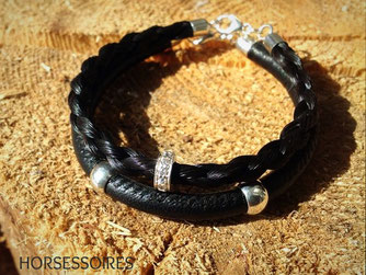 Schmuck aus Pferdehaar - Armband von Horsessoires