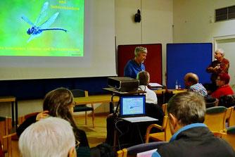 Foto: A. Röhm Eröffnung der Vortragsreihe durch Hans-Ulrich Sprenger