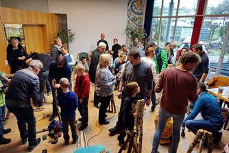 Foto: A.Röhm, Großer Zulauf im Umweltzentrum