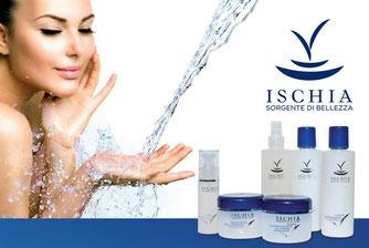 linea cosmetica classica all'acqua termale di ischia e acido ialuronico