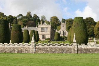 Lanhydrock Castle und Gärten
