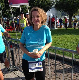 Tamara Walter beim Wörthersee-Halbmarathon 2016 (Foto: Armin Walter)