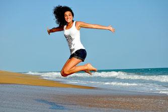 Lebendig & leistungsfähig, voll Lebensfreude