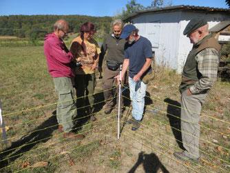 Mitglieder des Teams bei einer Schulung. Bild: Gisela Weber