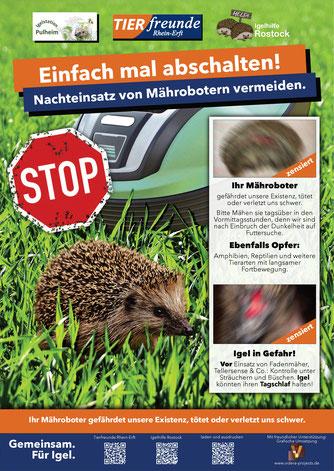 Plakatkampagne Quelle: Tierfreunde Rhein-Erft