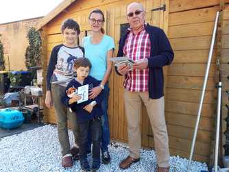 Auszeichnung Schwalbenfreundliches Haus Bild: Susanne Kirsch