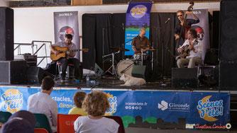 Gadjo & Co. Festival JAZZ360 2018, Camblanes-et-Meynac. Samedi 9 juin 2018. Photographe : Christian Coulais