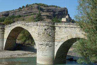 Romaanse brug van Graus