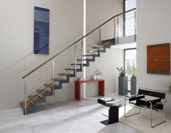 Treppenmodell FERRO - eines von 4 modernen und puristischen Treppenmodellen von BUCHER - www.bucher-treppen.de