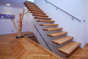 Treppenmodell EGO - eines von 4 modernen und puristischen Treppenmodellen von BUCHER - www.bucher-treppen.de