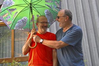 Michael Tomec und Klaus Humpe