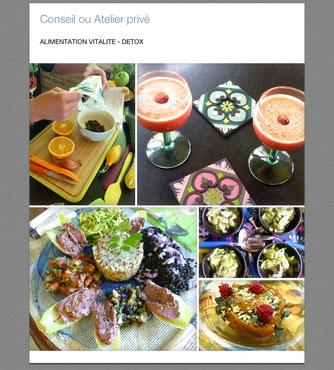 cuisine détox  - défenses immunitaires - cuisine santé - vitalité - plaisir - gustatif - ingrédients bio - Eva Claire