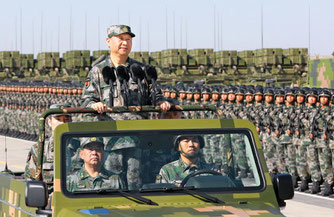 習近平主席の一党独裁 建国70周年軍事パレード