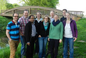 Ein Teil der Gründungsmitglieder 2012
