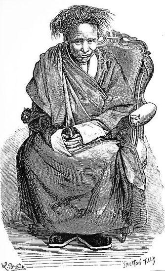 Le grand lama de Mongolie. Victor Meignan (1846-) : De Paris à Pékin par terre. Plon, Paris, 1877