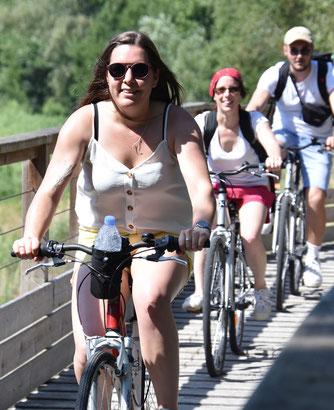 Julie, responsable de groupe (et passionnée de vélo)