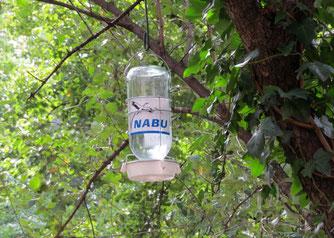 Trinkhilfe des NABU in der Leipziger Innenstadt. Foto: NABU Leipzig