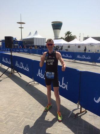 Daniel Gassner in Abu Dhabi