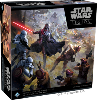 Star Wars Legion erscheint in deutscher Version