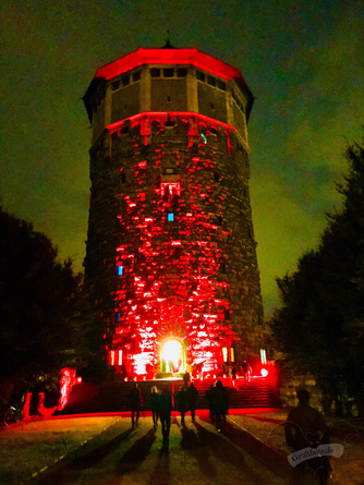 Der Wasserturm Hannover, Dark Tower Party 9 / Foto: Dunkelklaus