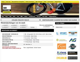 Tips voor Fietsers - wielrennen - Wedstrijden en Uitslagen Cycling Vlaanderen