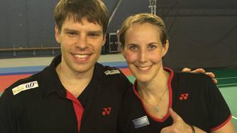 Doppelter Grund zur Freude: Michael Fuchs und Birgit Michels sind in Rio dabei (Bild: Diemo Ruhnow)