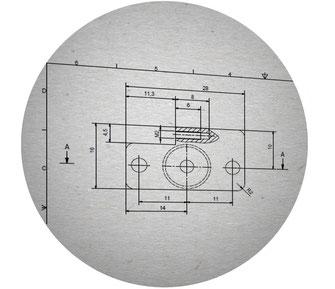 Detaillierung / Zeichnungserstellung Stücklisten Ersatzteillisten Zeichnung Inventor drawing