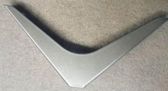 équerre design pour étagère coloris métal